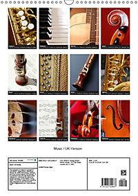Music / UK-Version (Wall Calendar 2019 DIN A3 Portrait) - Produktdetailbild 13