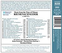 Musik A.D.Zeit Riemenschneide - Produktdetailbild 1