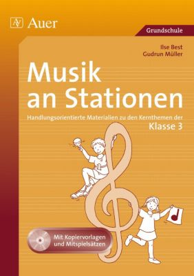 musik an stationen klasse 3 m audio cd buch portofrei. Black Bedroom Furniture Sets. Home Design Ideas