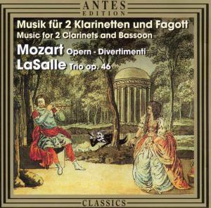 Musik Für 2 Klarinette+fago, Bläsersolisten Des SR Sinfonieorchesters