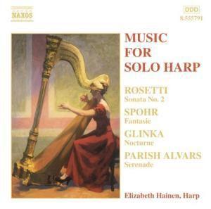 Musik für Harfe Solo, Elizabeth Hainen