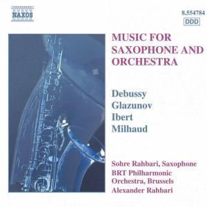 Musik für Saxophon & Orchester, Sohre Rahbari, Alexande Rahbari