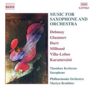 Musik Für Saxophon U.Orcheste, Kerkezos, Brabbins, Po