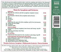 Musik Für Saxophon U.Orcheste - Produktdetailbild 1