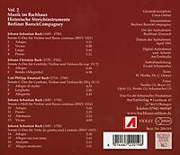 Musik Im Bachhaus: Historische Streichinstrumente - Produktdetailbild 1