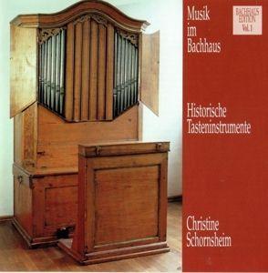 Musik Im Bachhaus: Historische Tasteninstrumente, Christine Schornsheim