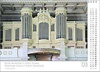 Musik-Kalender 2019. Die schönsten Orgeln der Welt. DIN-A-3 - Produktdetailbild 3