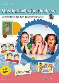 Musikalische Geschichten, m. Audio-CD, Julia Schüly