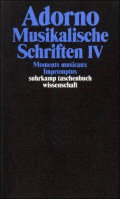 Musikalische Schriften, Theodor W. Adorno