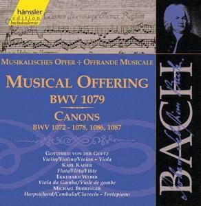 Musikalisches Opfer Bwv 1079, Johann Sebastian Bach