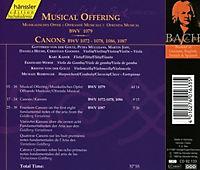 Musikalisches Opfer Bwv 1079 - Produktdetailbild 1