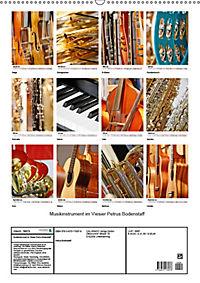 Musikinstrumente im Visier von Petrus Bodenstaff (Wandkalender 2019 DIN A2 hoch) - Produktdetailbild 13