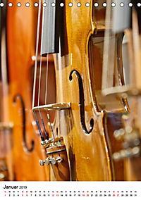 Musikinstrumente im Visier von Petrus Bodenstaff (Tischkalender 2019 DIN A5 hoch) - Produktdetailbild 1