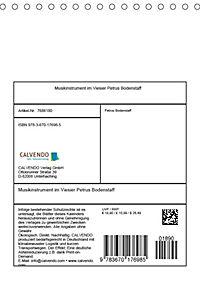 Musikinstrumente im Visier von Petrus Bodenstaff (Tischkalender 2019 DIN A5 hoch) - Produktdetailbild 13