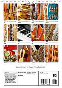 Musikinstrumente im Visier von Petrus Bodenstaff (Wandkalender 2019 DIN A4 hoch) - Produktdetailbild 13
