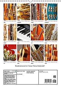 Musikinstrumente im Visier von Petrus Bodenstaff (Wandkalender 2019 DIN A3 hoch) - Produktdetailbild 13