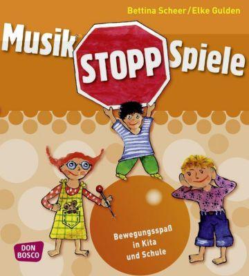 Musikstopp-Spiele, Bettina Scheer, Elke Gulden