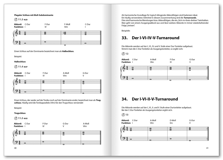 Musiktheorie Basics, mit Audio-CD Buch portofrei bei Weltbild.de