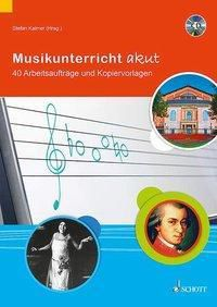 Musikunterricht akut, Lehrerband mit Audio-CD