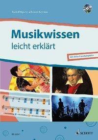 Musikwissen - leicht erklärt, m. Audio-CD, Rudolf Nykrin, Rainer Kotzian