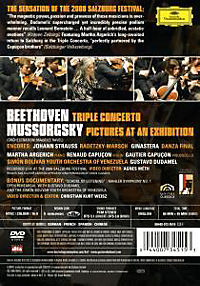 Mussorgsky: Pictures at an exhibition / Beethoven: Triple Concerto in C, Op.56, Overture - Produktdetailbild 1