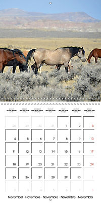 Mustangs - Wild Horses in the USA (Wall Calendar 2019 300 × 300 mm Square) - Produktdetailbild 11