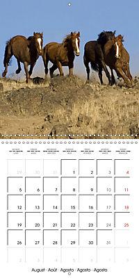 Mustangs - Wild Horses in the USA (Wall Calendar 2019 300 × 300 mm Square) - Produktdetailbild 8