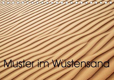Muster im Wüstensand (Tischkalender 2019 DIN A5 quer), Maurus Spescha