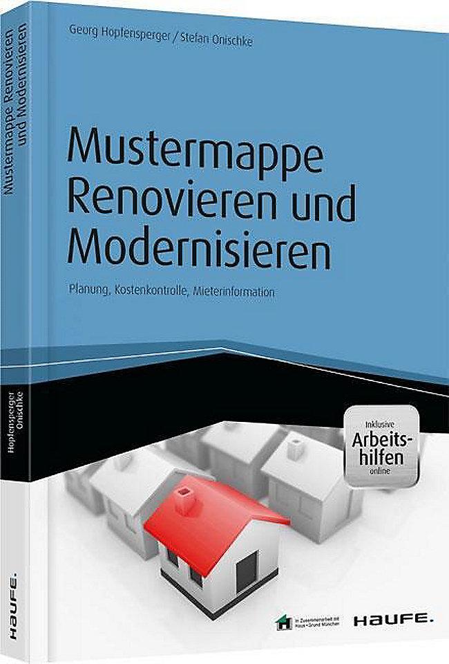 Mustermappe Renovieren Und Modernisieren Inkl Arbeitshilfen