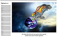 Mutter Erde und ihre Kostbarkeiten. Mit indianischen Weisheiten (Wandkalender 2019 DIN A2 quer) - Produktdetailbild 2