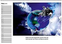 Mutter Erde und ihre Kostbarkeiten. Mit indianischen Weisheiten (Wandkalender 2019 DIN A2 quer) - Produktdetailbild 3