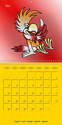 My crazy family - Naughty birds (Wall Calendar 2019 300 × 300 mm Square) - Produktdetailbild 8