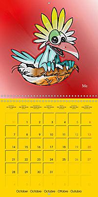 My crazy family - Naughty birds (Wall Calendar 2019 300 × 300 mm Square) - Produktdetailbild 10