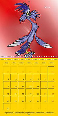 My crazy family - Naughty birds (Wall Calendar 2019 300 × 300 mm Square) - Produktdetailbild 9