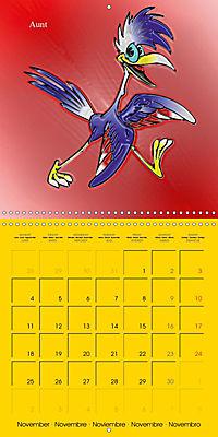 My crazy family - Naughty birds (Wall Calendar 2019 300 × 300 mm Square) - Produktdetailbild 11