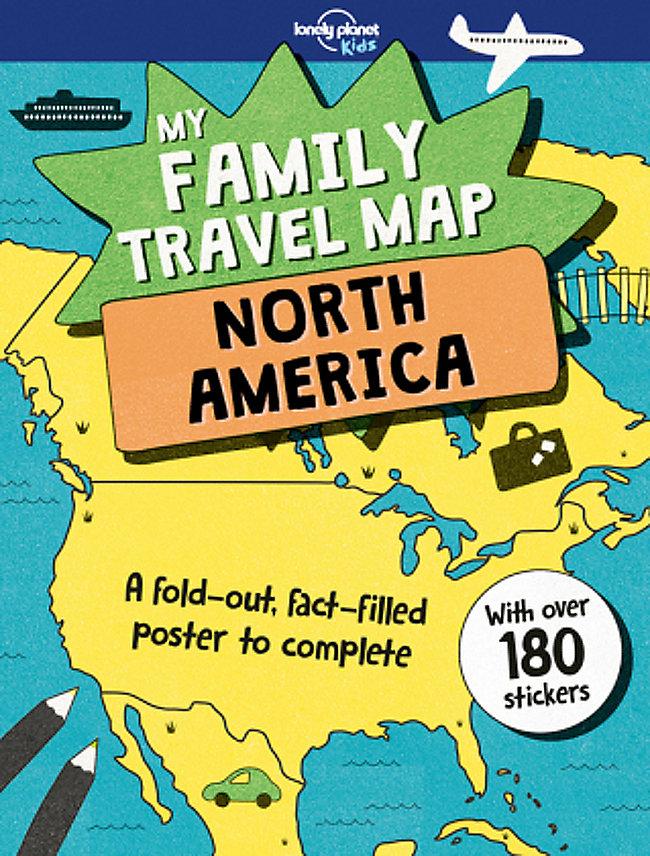 My Family Travel Map - North America Buch portofrei - Weltbild.de