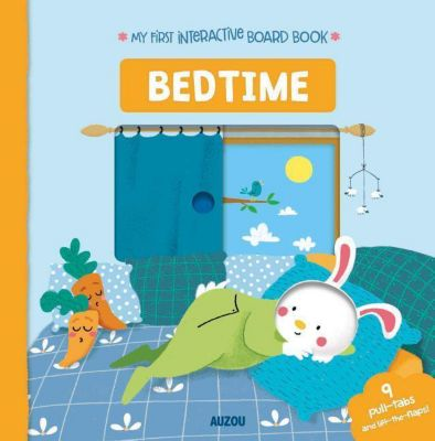 My First Interactive Board Book: Bedtime
