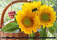 My love for sunflowers (Wall Calendar 2019 DIN A3 Landscape) - Produktdetailbild 8