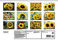 My love for sunflowers (Wall Calendar 2019 DIN A3 Landscape) - Produktdetailbild 13