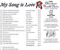 My Song Is Love - Produktdetailbild 1