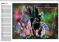 My wildflower Art (Wall Calendar 2019 DIN A3 Landscape) - Produktdetailbild 3
