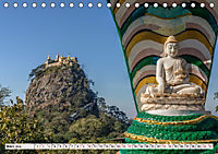 Myanmar, das goldene Land des lächelnden Buddhas (Tischkalender 2019 DIN A5 quer) - Produktdetailbild 3