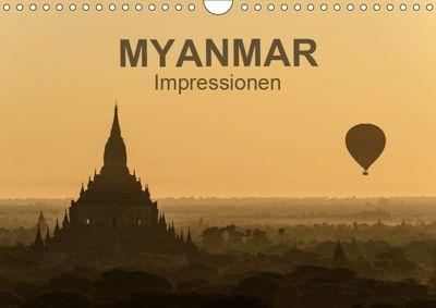 Myanmar - Impressionen (Wandkalender 2019 DIN A4 quer), Thomas Krebs
