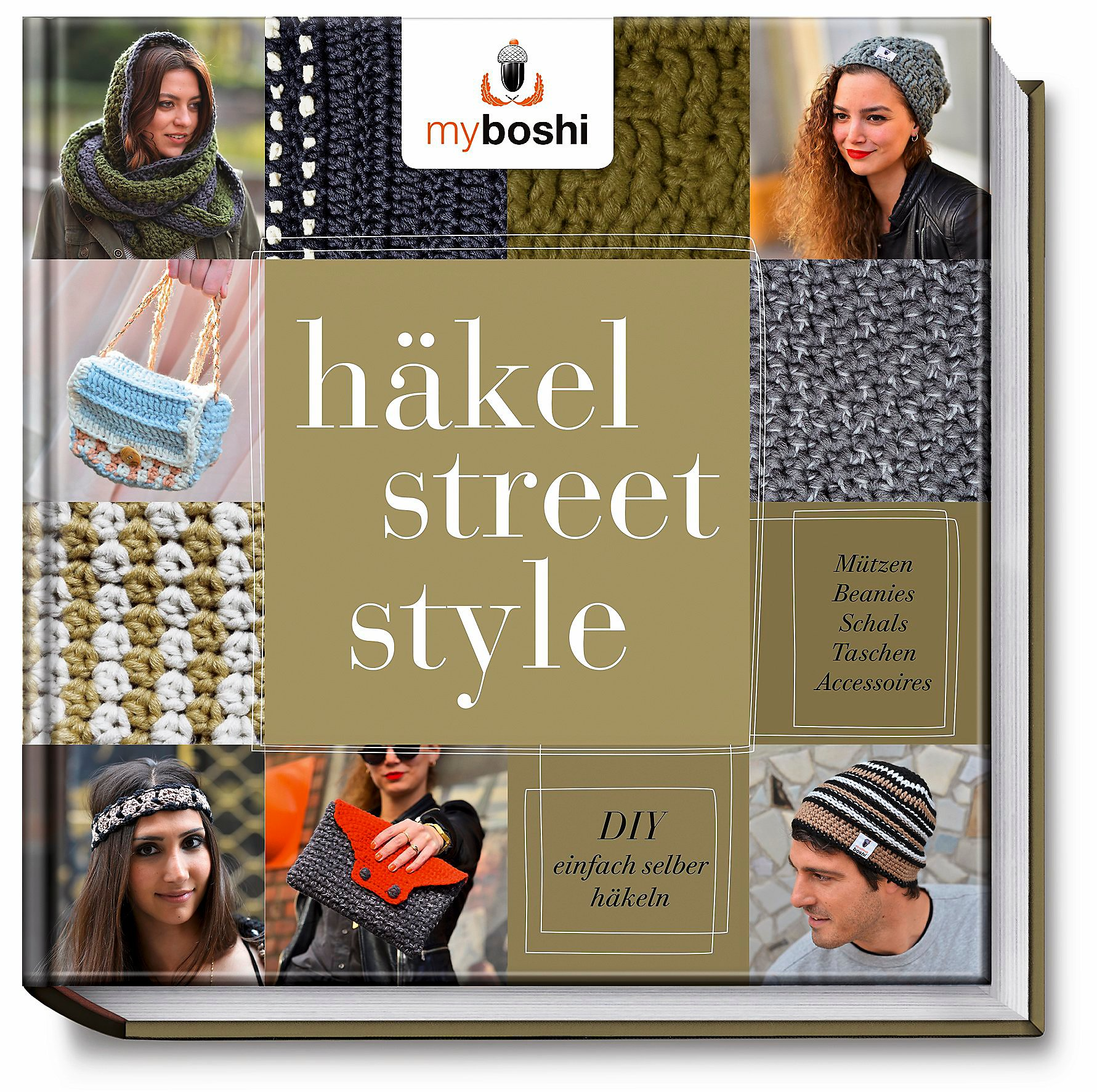 Myboshi Häkel Street Style Buch Portofrei Bei Weltbildde