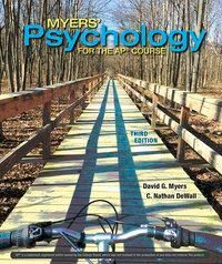 Myers' Psychology for AP, David A Myers