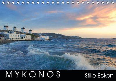 Mykonos - Stille Ecken (Tischkalender 2019 DIN A5 quer), Katrin Manz