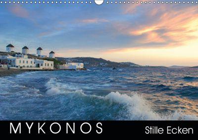 Mykonos - Stille Ecken (Wandkalender 2019 DIN A3 quer), Katrin Manz