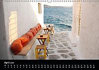 Mykonos - Stille Ecken (Wandkalender 2019 DIN A3 quer) - Produktdetailbild 4
