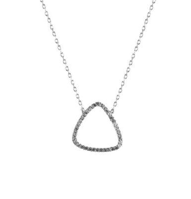 MyMacht Anhänger mit Kette 925/- Sterling Silber rhodiniert
