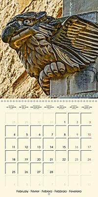 Mysterious creatures Gargoyles and Chimeras (Wall Calendar 2019 300 × 300 mm Square) - Produktdetailbild 2
